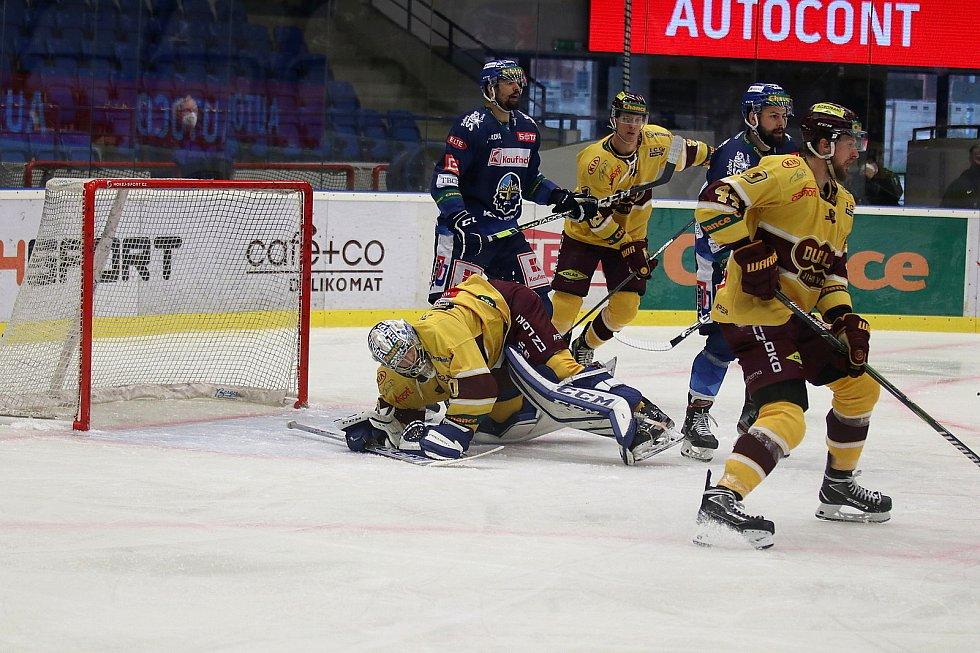 I druhé finále Chance ligy vyhráli na Kladně hokejisté Jihlavy. Tentokrát v poměru 4:1.