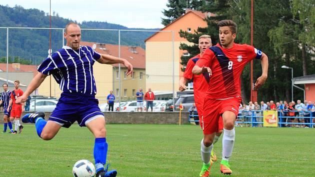 V dalším kole divize skupiny D fotbalisté Staré Říše porazili Blansko 3:0.