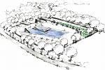 Plánovaný koupací biotop v Brtnici by vyšel na šestadvacet milionů.