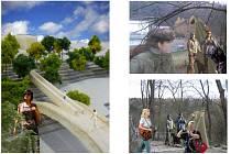 Návrhy na propojení největšího jihlavského sídliště Březinky s centrem města lávkou pro pěší