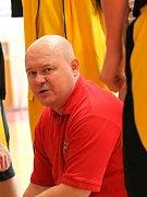 Zkušený trenér. Kouč basketbalistů BC Vysočina Petr Pešout tuší, že v novém ročníku I. ligy mužů čeká jeho výběr přetěžká cesta. Rád by udržel se silnou konkurencí krok.