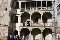 Den otevřených dveří na zámku v Brtnici.