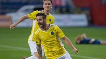 Podzimní utkání mezi Vysočinou a Líšní rozhodl v předposlední minutě jihlavský záložník Matúš Lacko.