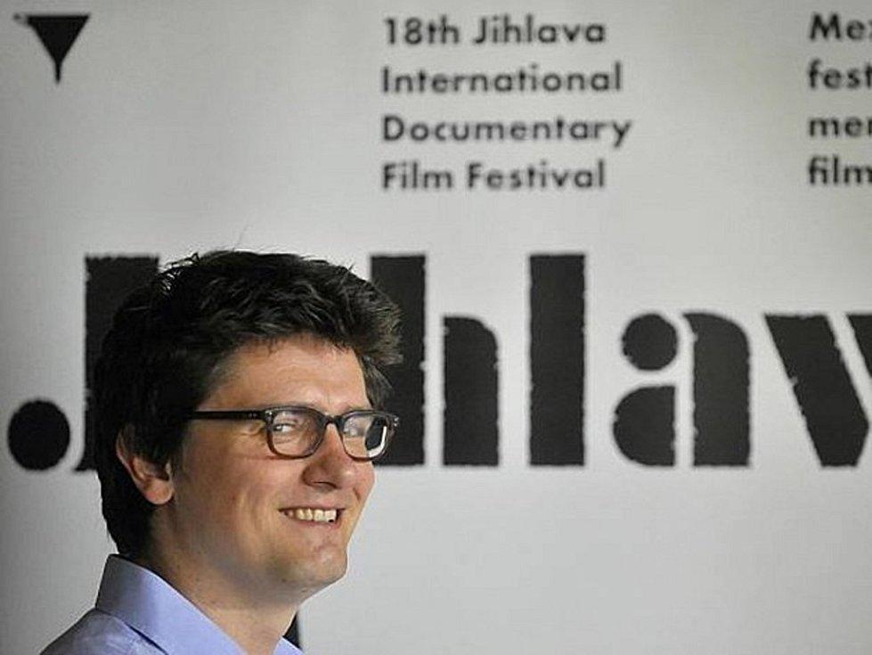 Ředitel festivalu Marek Hovorka.