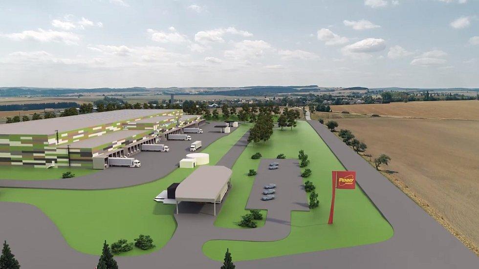 Svoji představu podoby logistického centra představil Penny Market na videu, které je přístupné na webu a facebooku Velkého Beranova.