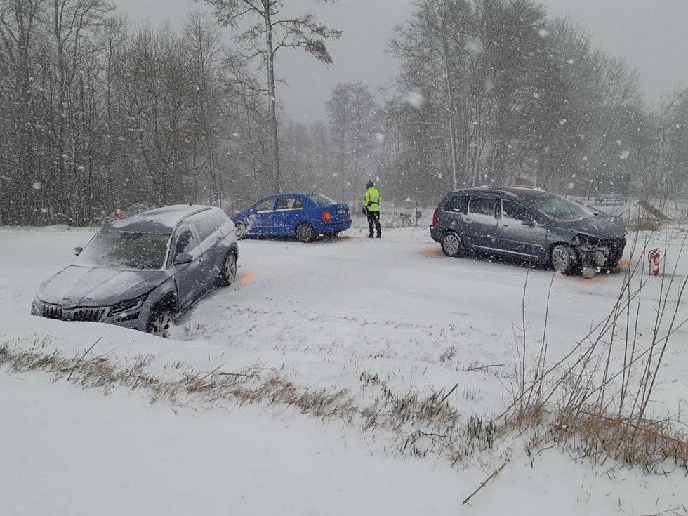 Nehoda u Vápovic.