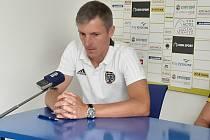 Trenér FC Vysočina Jan Kameník.