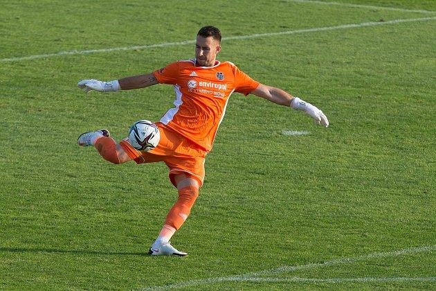 Fotbalové utkání 1.kola FNL mezi FC Vysočina Jihlava a FK Vansdorf.