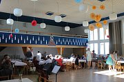 Takto vypadá školka v Krahulčí a sobotní oslavy v kulturním domě.