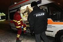 Silvestrovské oslavy na Vysočině naplno zaměstnaly zdravotnickou záchrannou službu. Za dvanáct hodin měli záchranáři 77 výjezdů. Ilustrační foto.