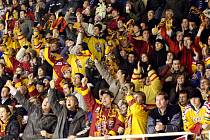 Mezi sedmi tisíci diváky v brněnské hale Rondo byl i ostrůvek fanoušků jihlavského týmu. V modrobílé mase domácích
