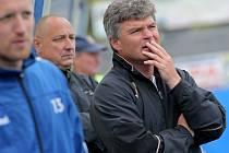 Dění v jihlavském klubu rozdělilo sehranou trenérskou dvojici Pavel Procházka (na snímku) a Roman Kučera. Druhý jmenovaný odešel společně s asistentem Michalem Kadlecem k ligovému A-týmu.