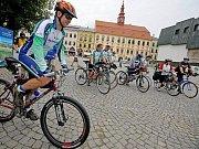 Start cyklojízdy v Jihlavě. Ilustrační foto.