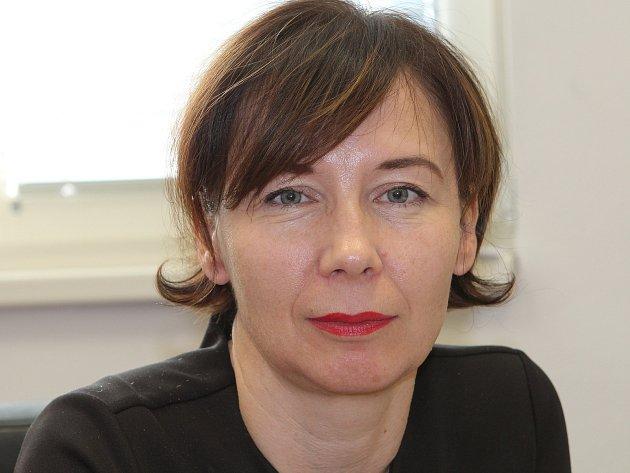 Nová předsedkyně jihlavského soudu Martina Chlupáčková.