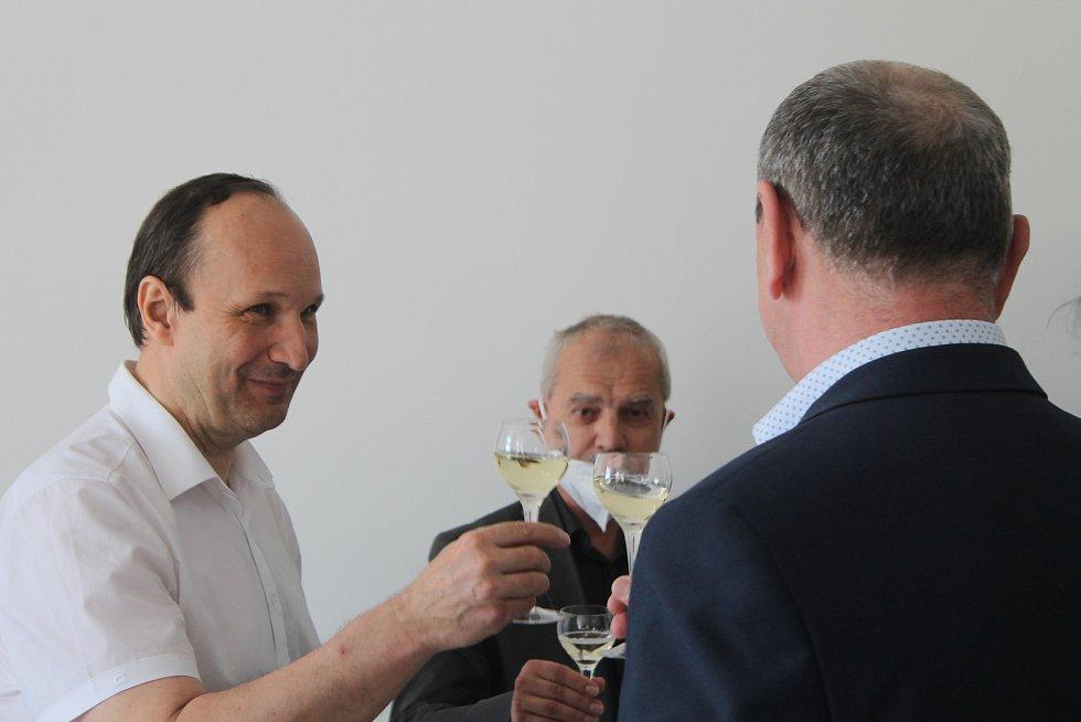 Náměstek primátorky Petr Ryška se slavnostního otevření rovněž zúčastnil.