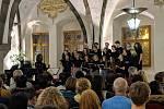 Koncert studentů na jihlavské radnici.