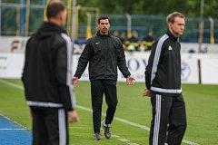 Utkání 29. kola první fotbalové ligy mezi FC Vysočina Jihlava a 1. FK Příbram, 20. května v Jihlavě