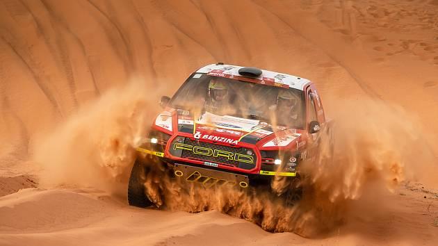 Martin Prokop na Dakaru 2020.