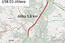 Silničáři chtějí opravit úsek dlouhý 5,6 kilometru.