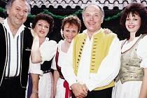 Druhý ročník festivalu dechových hudeb v Třešti má čtyři části. Nejbližší proběhne 7. června v Třešti v kulturním domě, kde vystoupí kapely Večerka a Veselka (na snímku).