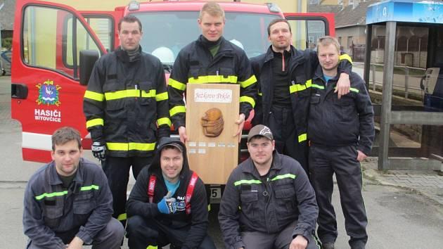 Dobrovolní hasiči z Bítovčic.