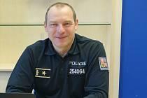 Ředitel Krajského ředitelství policie kraje Vysočina, brigádní generál Miloš Trojánek.