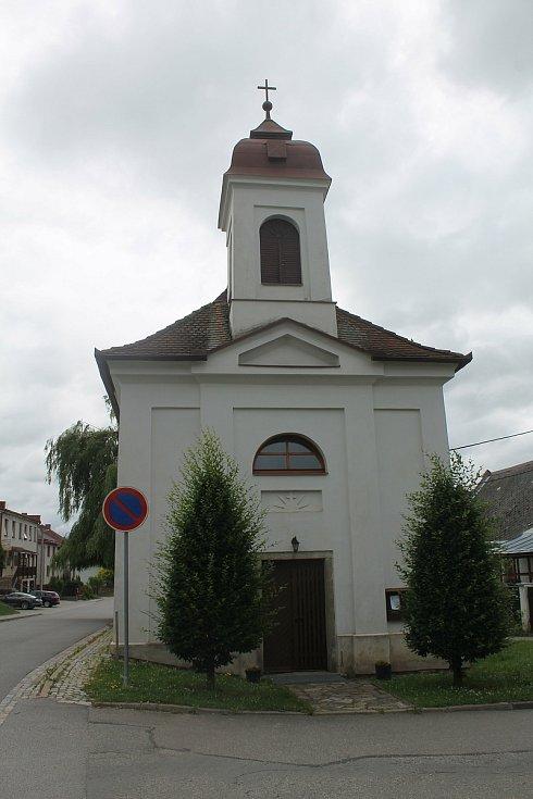 Kaple svaté Anny ve Velké Beranově.