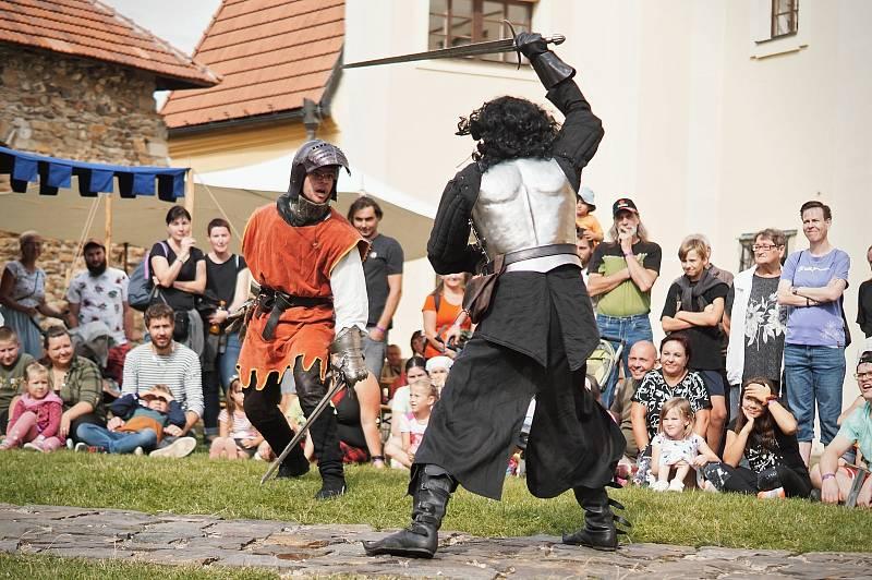 Konec léta se na polenském hradě nesl ve znamení Hradních slavností s Jiřím z Poděbrad.
