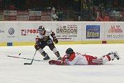 Zápas 52. kola hokejové extraligy HC Dukla Jihlava - HC Olomouc 4. března v Jihlavě.