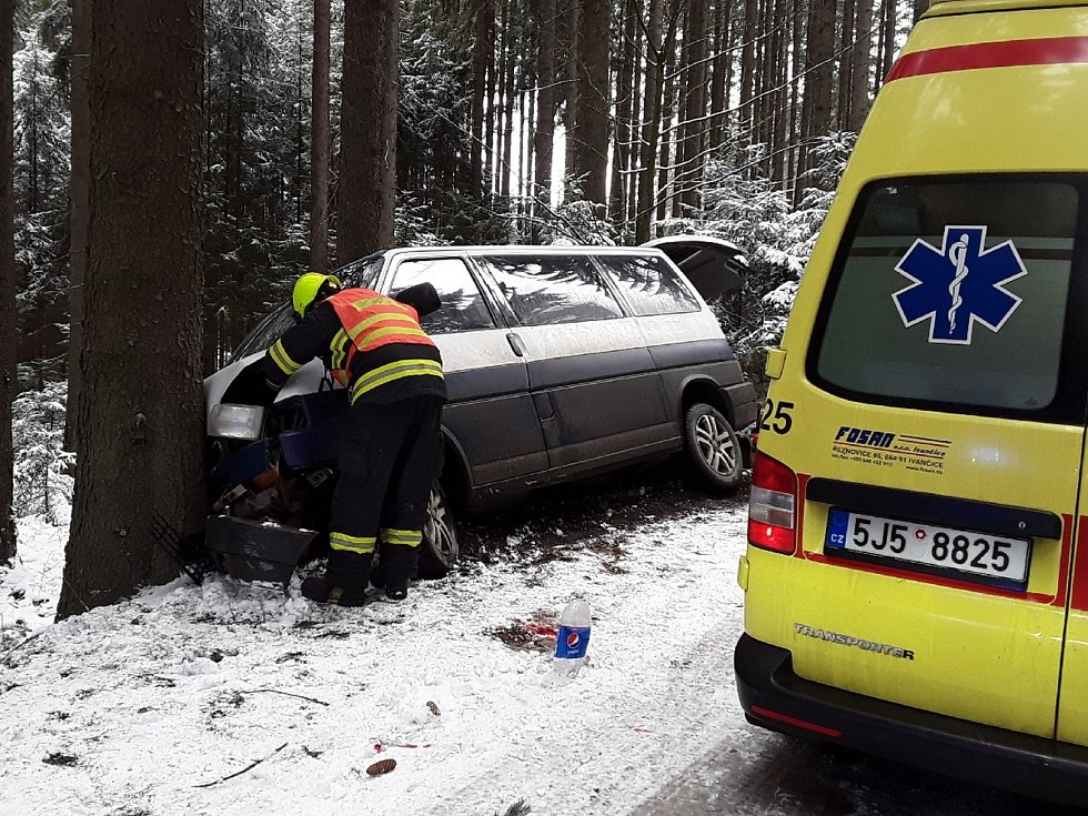 Nehoda u Obrataně.