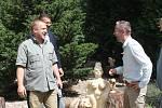Noví obyvatelé ZOO Jihlava hned zaujaly i návštěvníky.