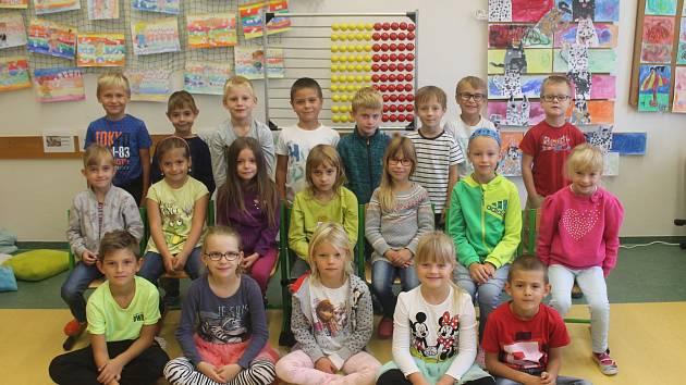 Děti v ZŠ Nad Plovárnou