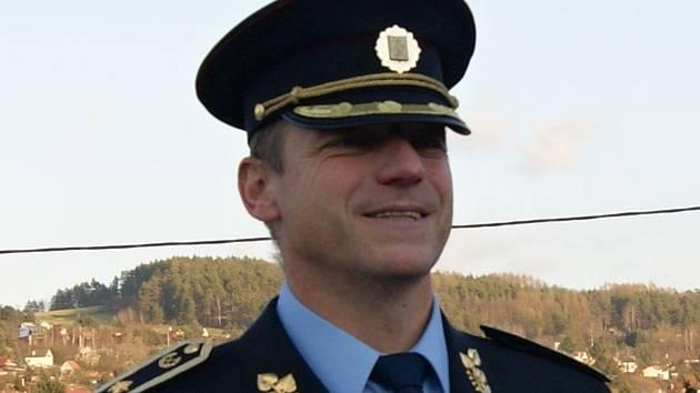 Policejní ředitel na Vysočině Miloš Trojánek.