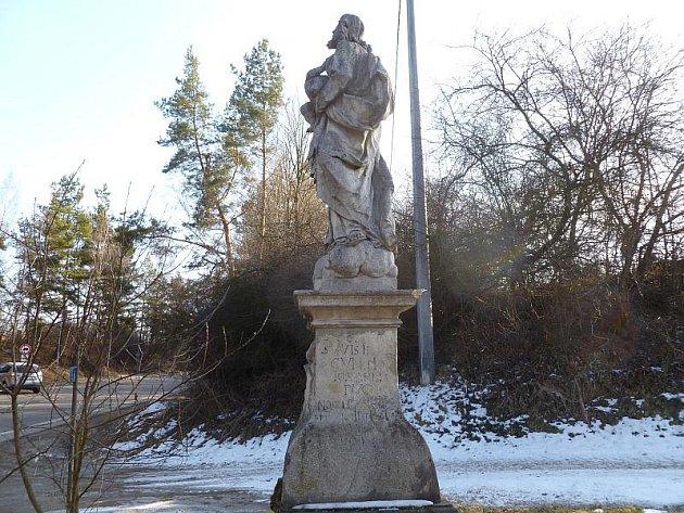 Socha svatého Josefa.