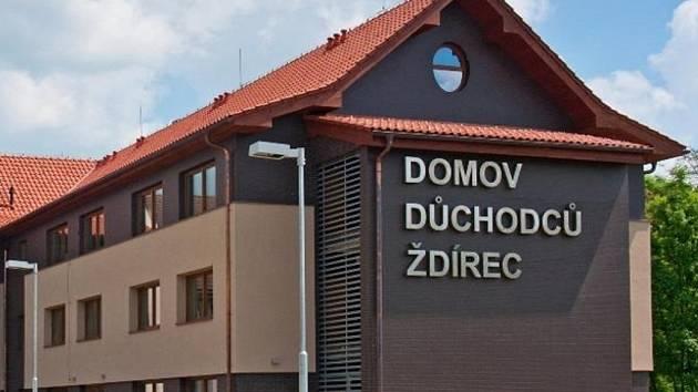 Domov pro seniory ve Ždírci je jedním ze zařízení, ve kterém se navyšovala v posledních letech kapacita.