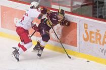 Hokejisté Dukly se v posledním zápase roku představí v Kladně.