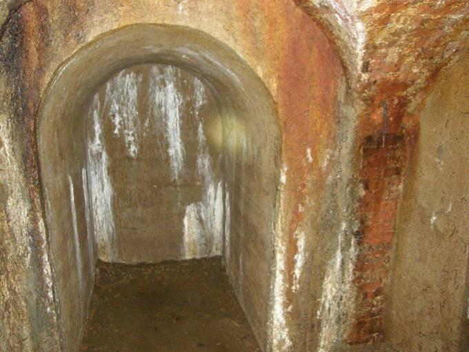 Snímek z expedice po jihlavském podzemí.