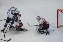 Utkání 48. kola hokejové extraligy: HC Dukla Jihlava - HC Škoda Plzeň, 6. února 2018 v Jihlavě.