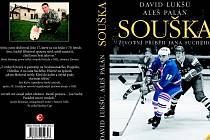 Takto vypadá obálka knihy s názvem Souška – životní a sportovní příběh hokejisty Jana Suchého.