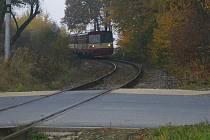 Právě v těchto místech srazil vlak dva nepozorné cizince.