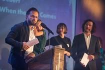 Slavnostní závěr mezinárodního festivalu dokumentárních filmů Ji.hlava.