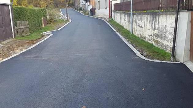 Takto vypadá nový povrch jihlavské Údolní ulice.