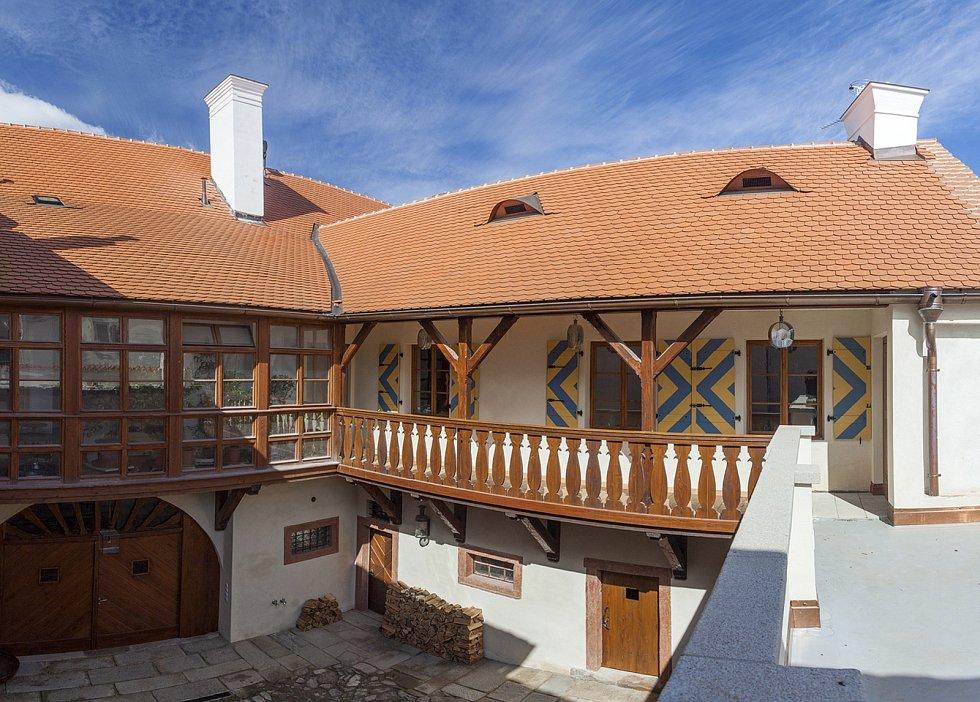 Historie. Zrekonstruovaný dům v těsné blízkosti historického centra v Telči bojuje v soutěži Patrimonium pro futuro.