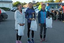 Lucie Maršánová (uprostřed) se kvalifikovala na Golden Trail Series na Azorské ostrovy, kam ale nakonec neodcestovala. Trápila ji bolavá noha.