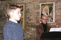 Koncert v synagoze. Ilustrační foto.