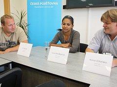 Irena Drevňáková, Roman Červenka a Jiří Kadlec dostali už několik cen, v pondělí tu od města Telče.