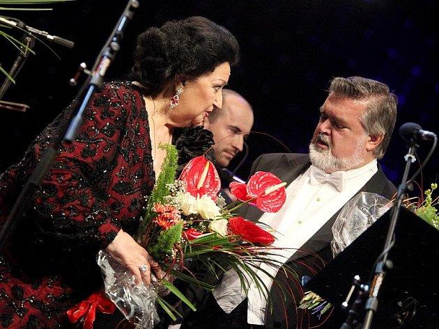 Triumfální pochod z opery Aida zahájil mezinárodní hudební festival v Jaroměřicích nad Rokytnou. Přijela i Montserrat Martí, operní pěvkyně a dcera hlavní hvězdy večera.