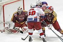 Poslední pátý zápas musí rozhodnout o tom, který z regionálních rivalů postoupí do čtvrtfinále vyřazovacích bojů. Havlíčkobrodští hokejisté totiž v úterním utkání odvrátili možný konec sezony a Jihlavu porazili 4:2.