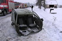 Na silnici číslo I/38, což je hlavní tah z Jihlavy do Znojma, došlo k velmi vážné dopravní nehodě.