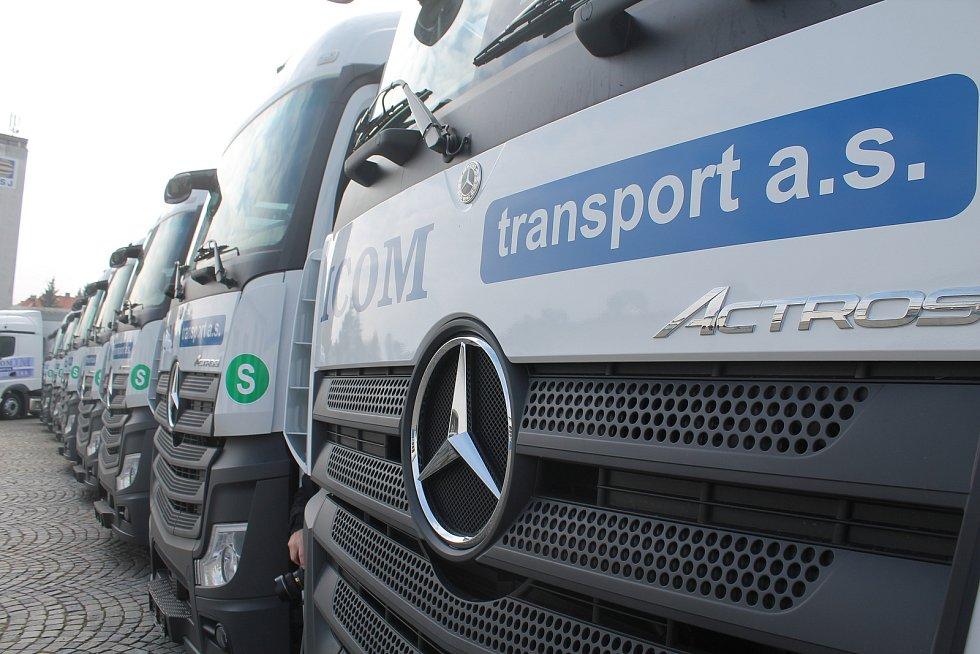 Ktestování zaměstnanců potřebuje dopravní koncern ICOM transport 7.200testů na měsíc. Vyřeší to samotesty.